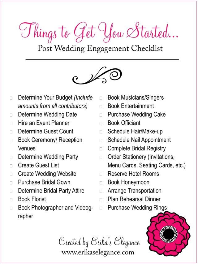 Wedding Planning 101 - Budgeting