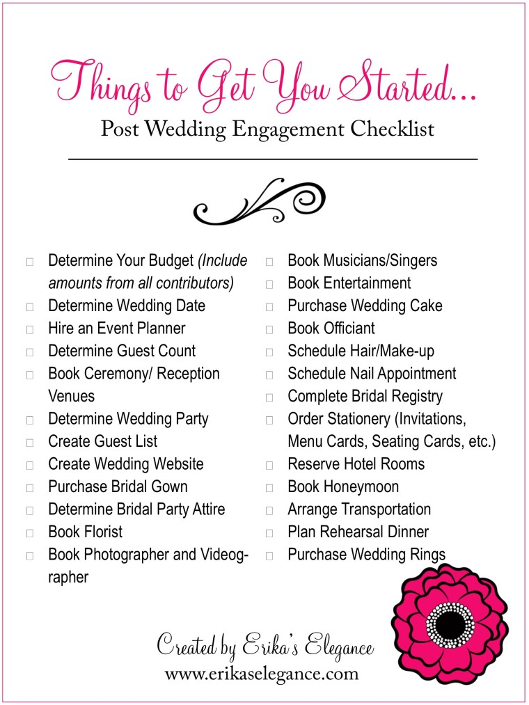 Post Engagement List 5x7