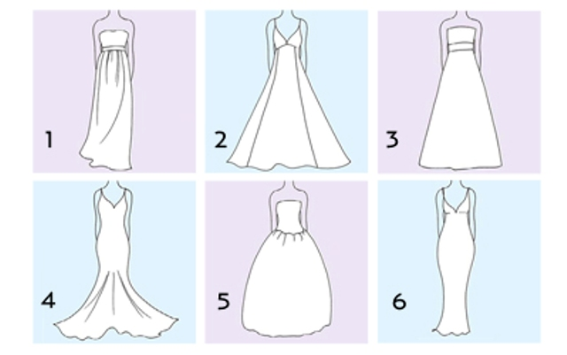 Wedding Dress For Body Types Guide : Styles of bridal gowns first you want to determine your body type