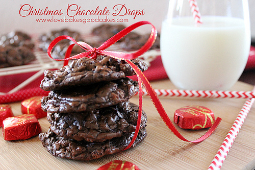 Christmas Chocolate Drop
