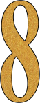 Glitter Gold 8