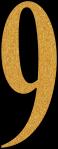 Glitter Gold 9