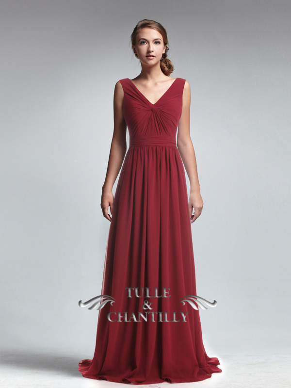 Long-V-Neck-Empire-Ruched-Waist-Bridesmaid-Dress-p-TBQP247_a1